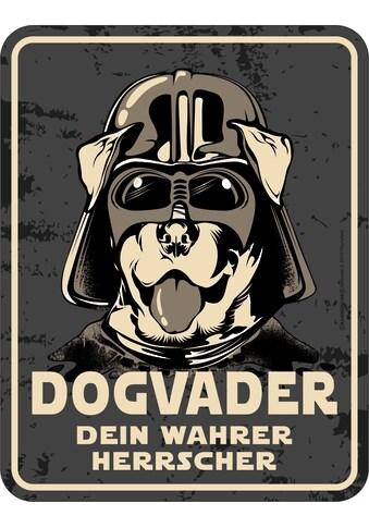 Rahmenlos Blechschild für den Hunde-Liebhaber kaufen