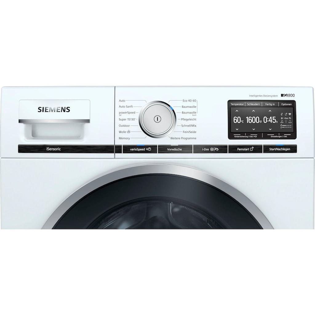 SIEMENS Waschmaschine »WM16XE40«, iQ800, WM16XE40
