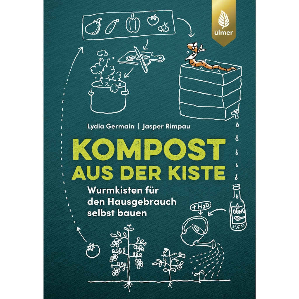 Buch »Kompost aus der Kiste / Lydia Germain, Jasper Rimpau«