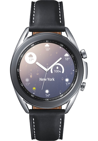 Samsung Galaxy Watch 3, Edelstahl, 41 mm, Bluetooth (SM - R850) Smartwatch (3 cm / 1,2 Zoll, Android Wear) kaufen