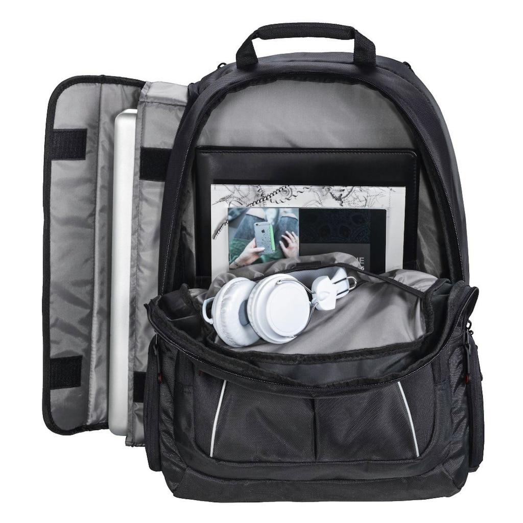 Hama Hama Rucksack für Laptops bis 44cm (17,3), mit Laptopfach