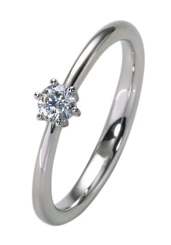 """Firetti Diamantring »Verlobungsring """"Solitär""""«, Made in Germany, mit Brillant in... kaufen"""