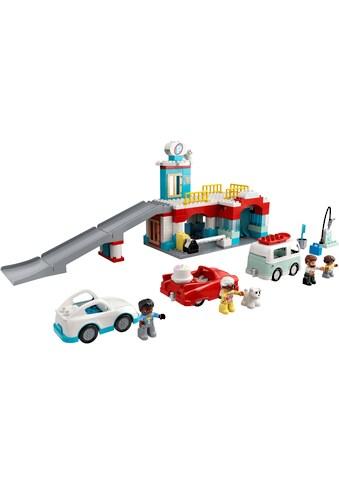 LEGO® Konstruktionsspielsteine »Parkhaus mit Autowaschanlage (10948), LEGO® DUPLO®... kaufen