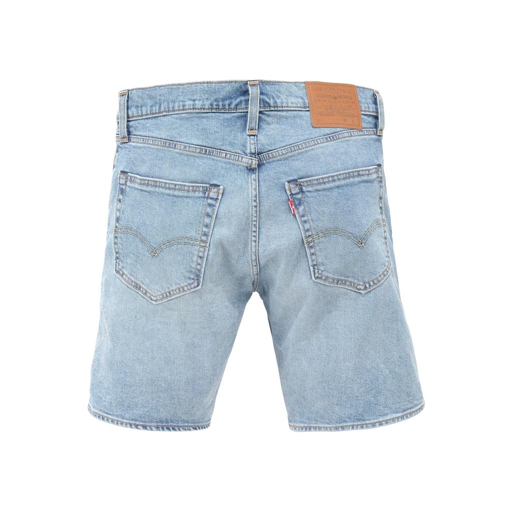 Levi's® Jeansshorts »412 SLIM SHORT«, in authentischer Waschung