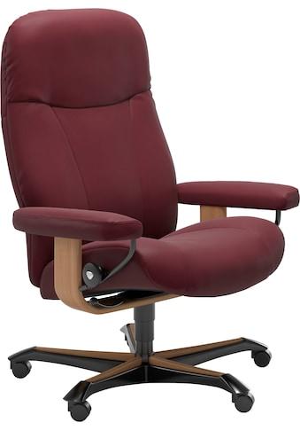 Stressless® Relaxsessel »Garda«, mit Home Office Base, Größe M, Gestell Eiche kaufen