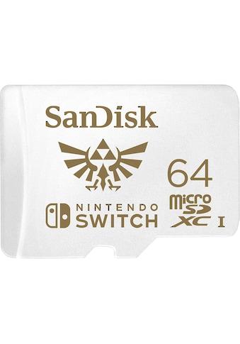 Sandisk Speicherkarte »microSDXC Extreme 64GB (U3/UHS-I/Cl.10/R100/W60) für Nintendo... kaufen
