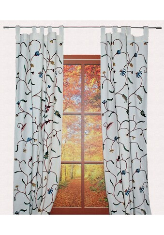 Vorhang, »Weissensee«, HOSSNER  -  ART OF HOME DECO, Schlaufen 1 Stück kaufen