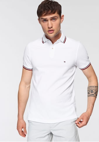 Tommy Hilfiger Poloshirt »TOMMY TIPPED SLIM POLO« kaufen