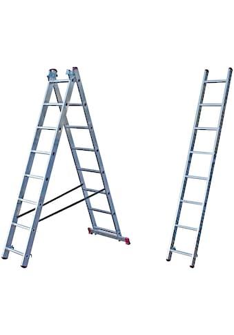 KRAUSE Vielzweckleiter »CORDA«, mit Treppenfunktion kaufen