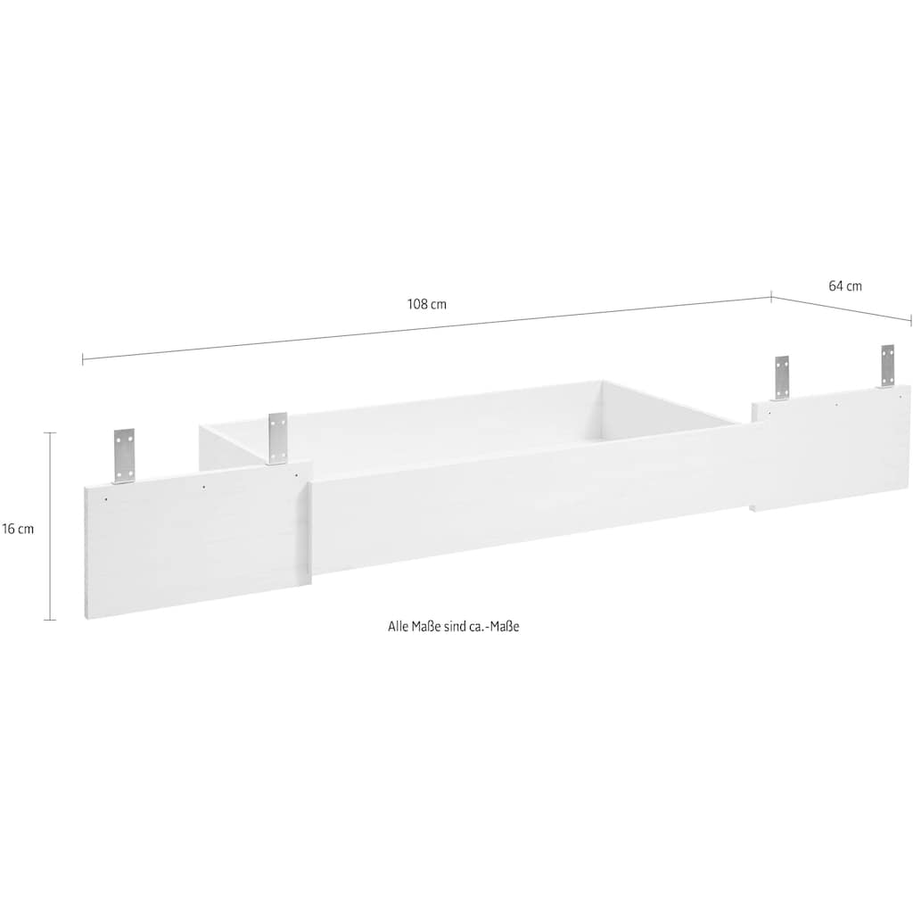 Home affaire Bettschubkasten »Florenz«, Ergänzung zum Bett Florenz