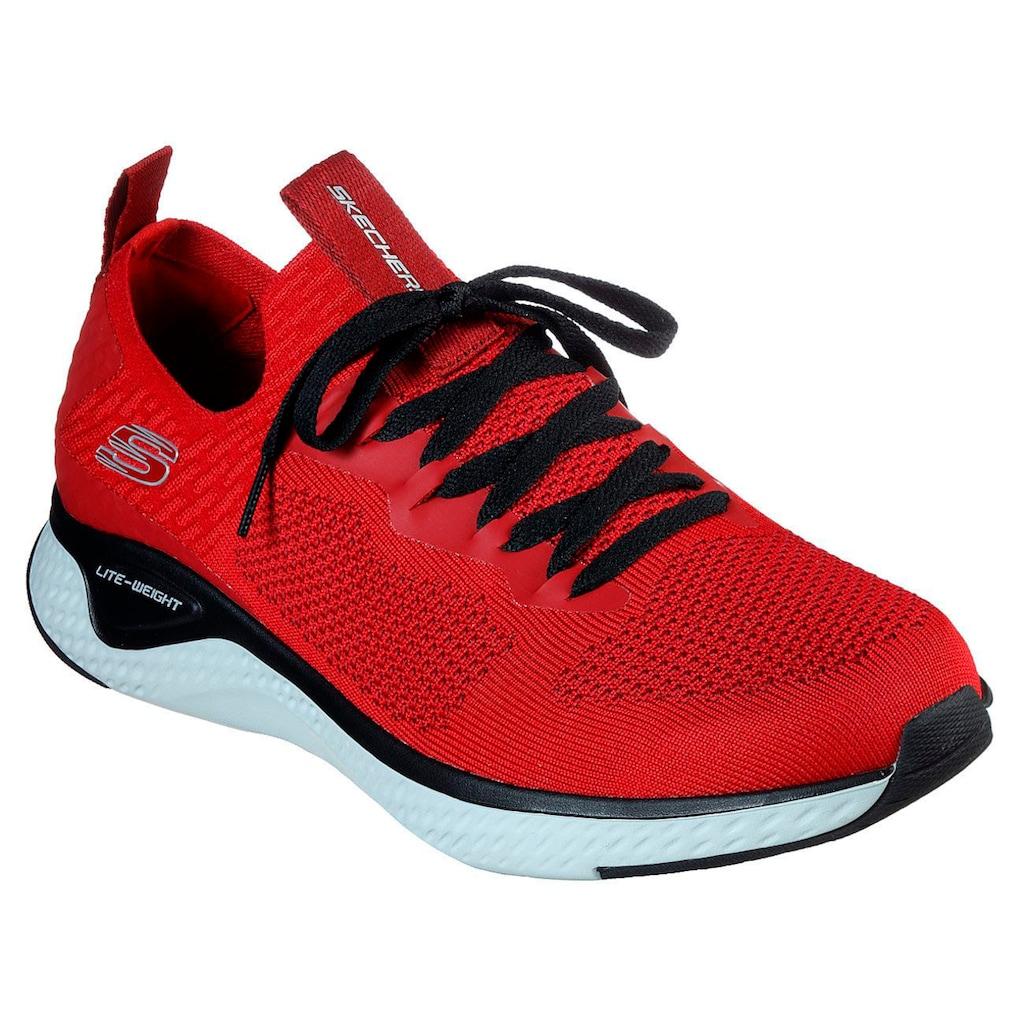Skechers Sneaker »Solar Fuse«, im angesagten Materialmix