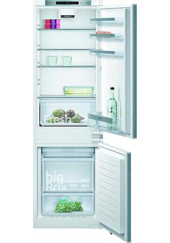 SIEMENS Einbaukühlgefrierkombination iQ300, 177,2 cm hoch, 54,1 cm breit kaufen