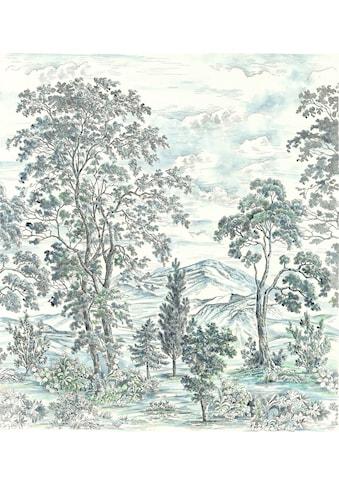 Komar Fototapete »Vliestapete Highland Trees«, bedruckt-geblümt-floral-realistisch,... kaufen