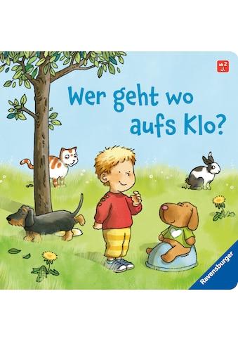 Buch »Wer geht wo aufs Klo? / Kathrin Lena Orso, Jens Ohrenblicker, Catharina Westphal« kaufen