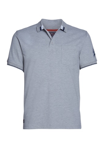 AHORN SPORTSWEAR Poloshirt mit coolem Ärmelprint kaufen
