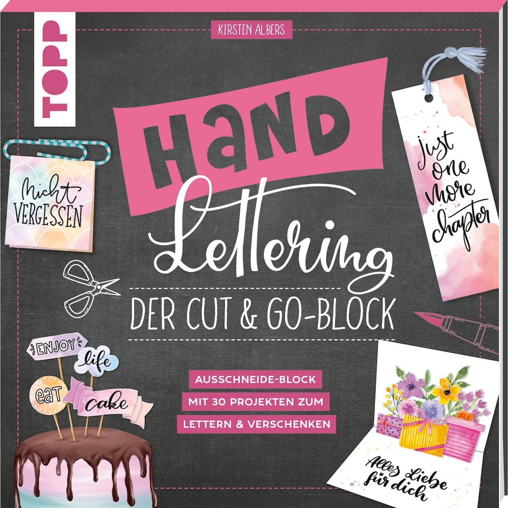Buch »Handlettering. Der Cut & Go-Block / Kirsten Albers«