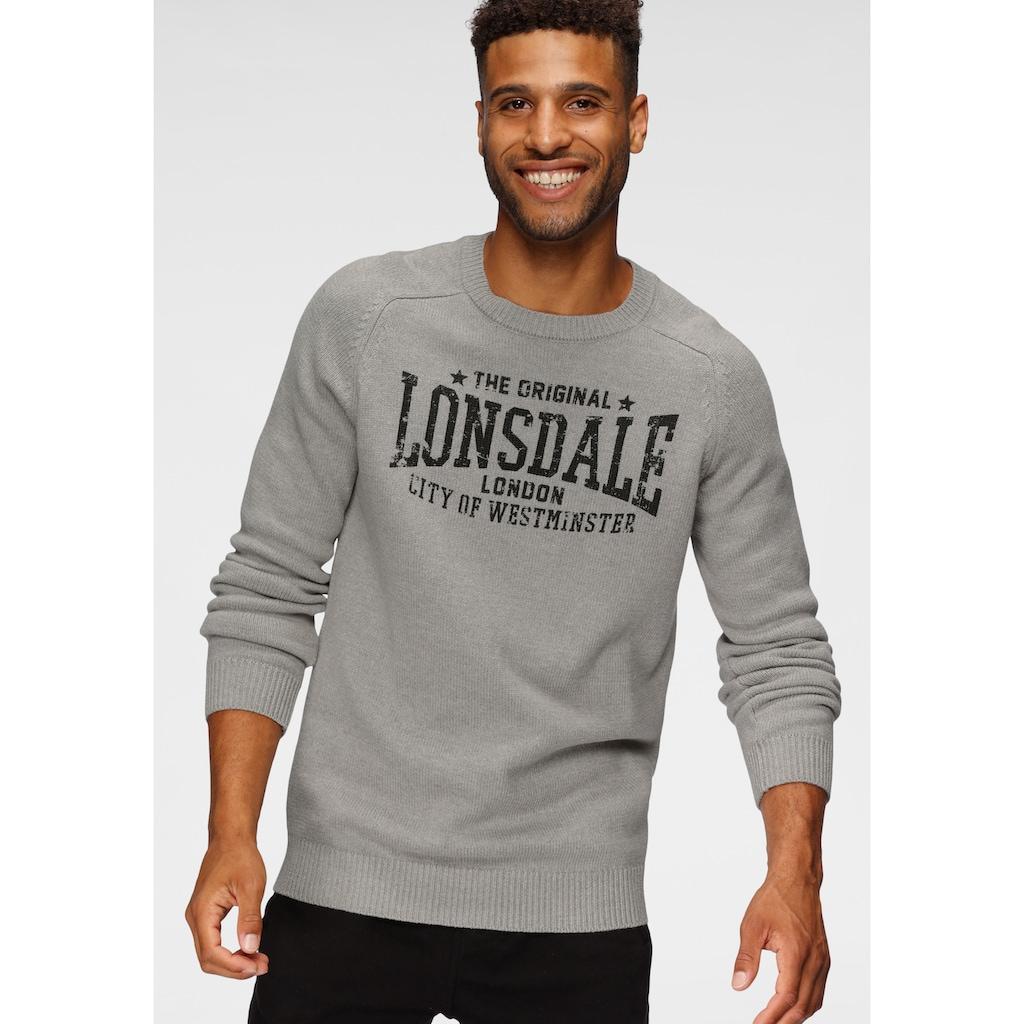Lonsdale Strickpullover »TALGARREG«