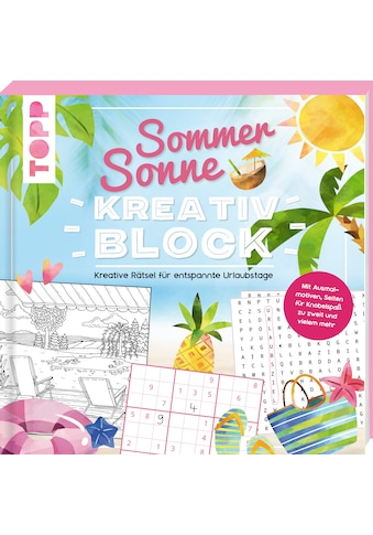 Buch »Sommer-Sonne-Kreativblock / Frechverlag« kaufen