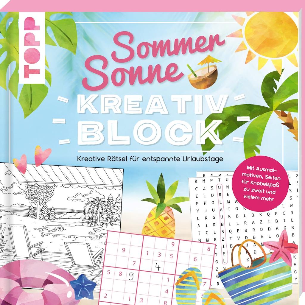 Buch »Sommer-Sonne-Kreativblock / Frechverlag«