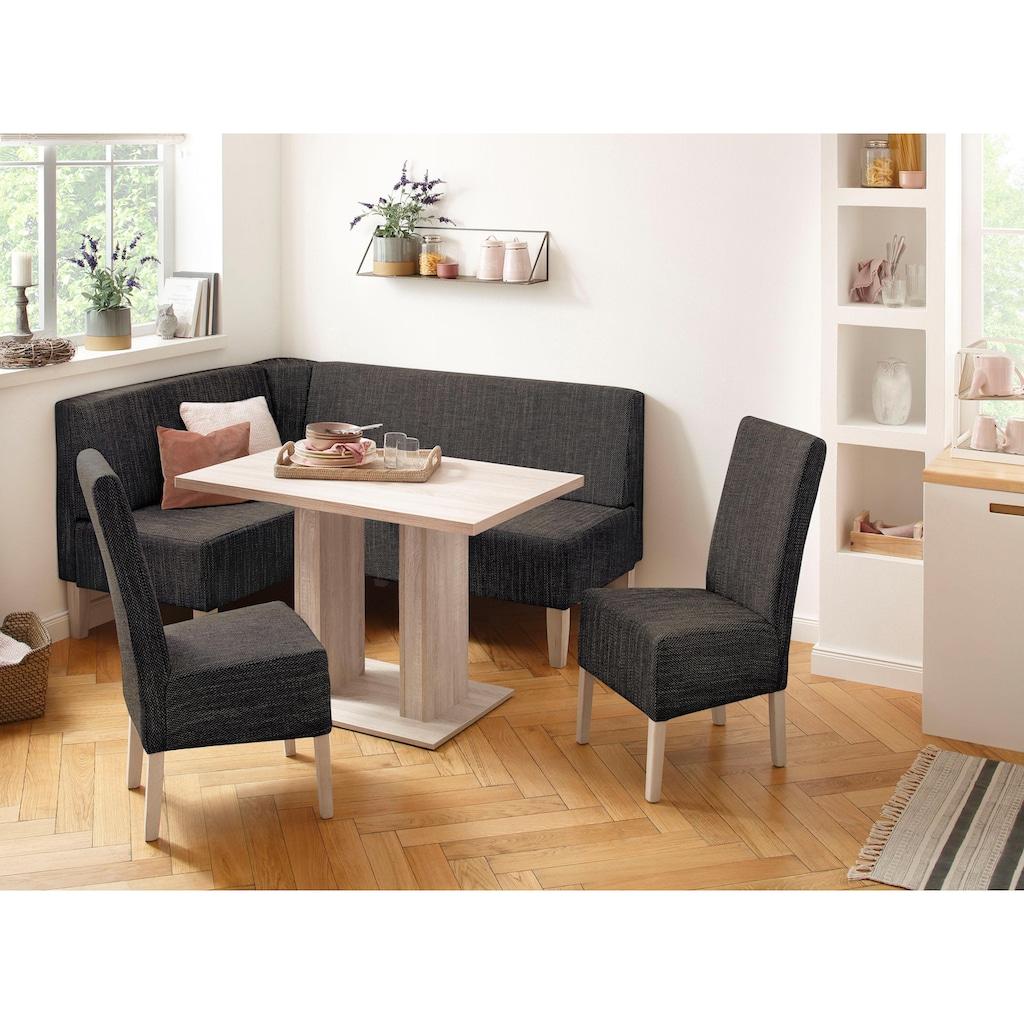 Home affaire Eckbankgruppe »Hellen«, (Set, 4 tlg.), im rustikalen Landhausstil