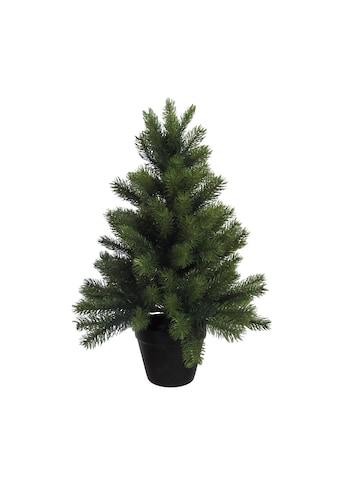 Creativ deco Künstlicher Weihnachtsbaum, mit schwarzem Kunststoff-Topf kaufen