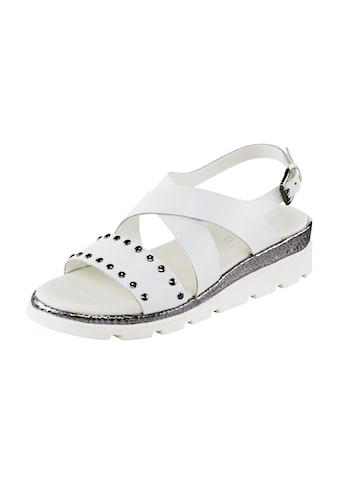 Sandalette mit Nieten kaufen