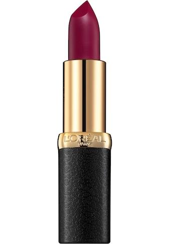 L'ORÉAL PARIS Lippenstift »Color Riche Matte Addiction« kaufen