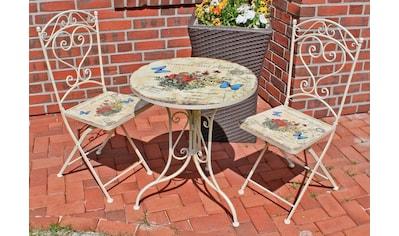 Garden Pleasure Gartenmöbelset »FLORAL« kaufen