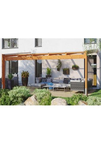 SKANHOLZ Terrassendach »Novara«, BxT: 557x359 cm, versch. Farben kaufen