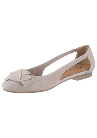 Tamaris Ballerina »Runa«, mit Zierschleife kaufen