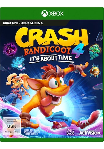 Activision Spiel »Crash Bandicoot 4 - It´s About Time«, Xbox One kaufen