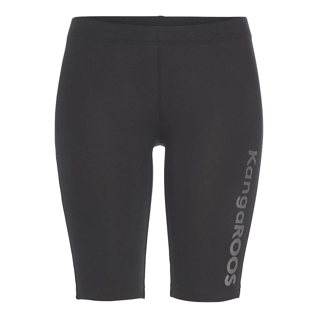KangaROOS Radlerhose, (2 tlg.), perfekt kombinierbar mit Kleidern und Röcken